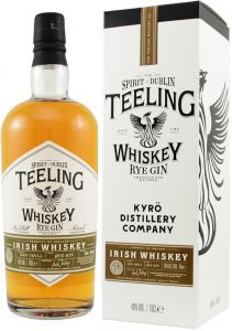 [kuva: Teeling Whiskey Kyrö Rye Gin Small Batch Collaboration(© Alko)]