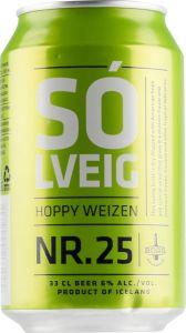[kuva: Borg Solveig Nr. 25 Hoppy Weizen tölkki(© Alko)]