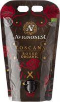 [kuva: Avignonesi Toscana Rosso Organic 2019 viinipussi]