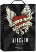 [kuva: Allegro Organic Primitivo 2016 hanapakkaus]
