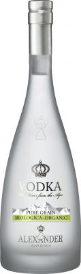[kuva: Alexander Organic Vodka(© Alko)]