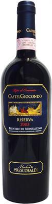 [kuva: Frescobaldi Castelgiocondo Brunello di Riserva 2003(© Alko)]