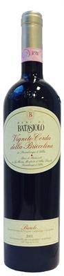 [kuva: Batasiolo Barolo Vigneto Corda della Briccolina 2001(© Alko)]