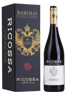 Ricossa Barolo 2014 lahjapakkaus