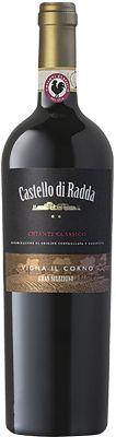 [kuva: Castello di Radda Chianti Classico Gran Selezione Vigna Il Corno 2015(© Alko)]