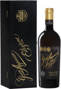 Gran Appasso Edizione Old Vines Primitivo 2016 lahjapakkaus