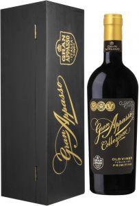 Gran Appasso Collezione Old Vines Primitivo 2017 lahjapakkaus