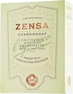 [kuva: Zensa Chardonnay Organico 2020 hanapakkaus(© Alko)]