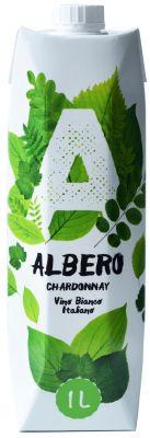 [kuva: Albero Chardonnay kartonkitölkki(© Alko)]