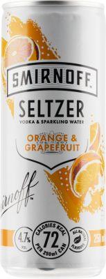 [kuva: Smirnoff Seltzer Orange & Grapefruit tölkki(© Alko)]