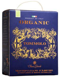 [kuva: Tommolo Organic Montepulciano d'Abruzzo hanapakkaus(© Alko)]