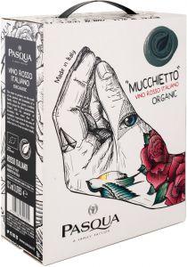[kuva: Pasqua Mucchietto Vino Rosso Italiano Organic hanapakkaus(© Alko)]