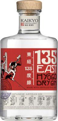 [kuva: 135 East Hyögo Dry Gin(© Alko)]