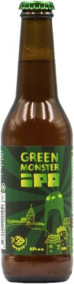 [kuva: Apynys Green Monster IPA(© Alko)]