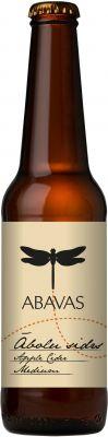 [kuva: Abavas Abols Medium Dry Cider(© Alko)]