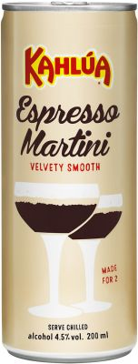 [kuva: Kahlúa Espresso Martini tölkki(© Alko)]