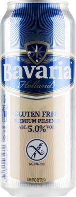 [kuva: Bavaria Gluten Free Premium Pilsner tölkki(© Alko)]