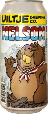 [kuva: Uiltje Nelson the American Beaver tölkki(© Alko)]