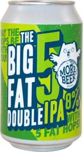 [kuva: Uiltje Big Fat 5 Double IPA tölkki(© Alko)]