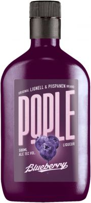 [kuva: Pople Blueberry muovipullo(© Alko)]
