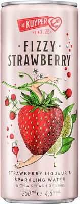[kuva: De Kuyper Fizzy Strawberry tölkki(© Alko)]