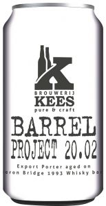 [kuva: Kees Barrel Project 20.02 tölkki(© Alko)]