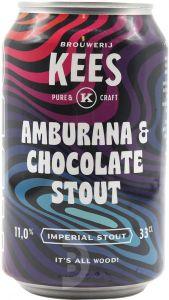 [kuva: Kees Amburana & Chocolate Stout tölkki(© Alko)]