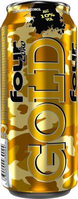 [kuva: Four Loko Gold tölkki(© Alko)]