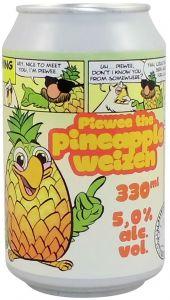 [kuva: Uiltje Piewee the Pineapple Weizen tölkki(© Alko)]