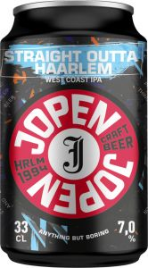 [kuva: Jopen Straight outta Haarlem West Coast IPA tölkki(© Alko)]