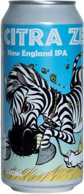 [kuva: Uiltje Citra Zebra New England IPA tölkki(© Alko)]