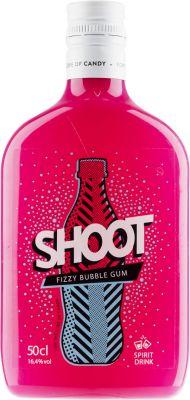 [kuva: Shoot Fizzy Bubble Gum muovipullo(© Alko)]