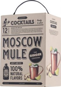 [kuva: Classic Cocktail Moscow Mule hanapakkaus(© Alko)]