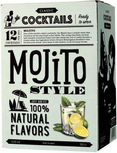 [kuva: Classic Cocktails Mojito hanapakkaus(© Alko)]