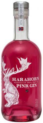 [kuva: Harahorn Norwegian Small Batch Pink Gin(© Alko)]