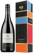 [kuva: Jackson Estate Vintage Widow Pinot Noir 2014 lahjapakkaus]