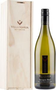 [kuva: Villa Maria Single Vineyard Taylors Pass Sauvignon Blanc 2017 lahjapakkaus(© Alko)]