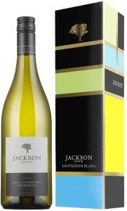 [kuva: Jackson Estate Stich Sauvignon Blanc 2016 lahjapakkaus(© Alko)]