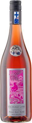 [kuva: Vicarage Lane Canterbury Pinot Noir Rosé 2018(© Alko)]