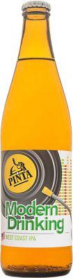 [kuva: Pinta Modern Drinking West Coast IPA(© Alko)]