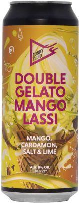 [kuva: Funky Fluid Double Gelato Mango Lassi tölkki(© Alko)]