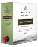 [kuva: Quinta Do Gradil Red Blend 2015 hanapakkaus]