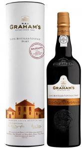 [kuva: Graham's Late Bottled Vintage Port 2012 lahjapakkaus(© Alko)]