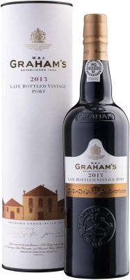 [kuva: Graham's Late Bottled Vintage Port 2013 lahjapakkaus(© Alko)]