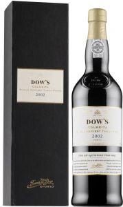 [kuva: Dow's Colheita Single Harvest Tawny Port 2002 lahjapakkaus(© Alko)]