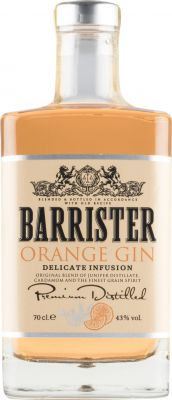 [kuva: Barrister Orange Gin(© Alko)]