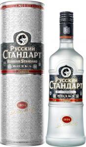 [kuva: Russian Standard Vodka lahjapakkaus(© Alko)]
