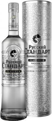 [kuva: Russian Standard Platinum Vodka lahjapakkaus(© Alko)]