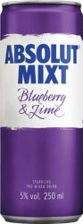 [kuva: Absolut Mixt Blueberry & Lime tölkki]