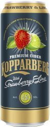 [kuva: Kopparberg Strawberry & Lime Premium Cider tölkki]